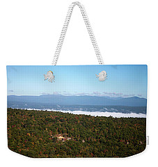 Weekender Tote Bag featuring the photograph Autumn Morning by Jeff Severson