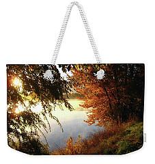 Autumn Morning  Weekender Tote Bag by Kathy Bassett