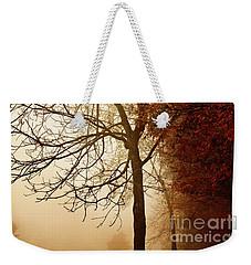 Autumn Morning Weekender Tote Bag by Stephanie Frey