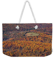 Autumn Mountain Side Weekender Tote Bag