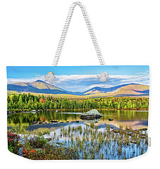 Autumn Mt.katahdin Baxter Sp Maine Weekender Tote Bag