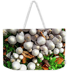 Autumn Mushrooms Weekender Tote Bag