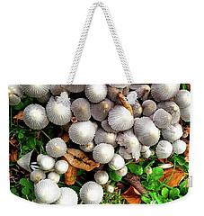 Autumn Mushrooms Weekender Tote Bag