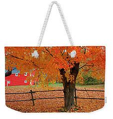 Autumn Near New Germany, Nova Scotia Weekender Tote Bag