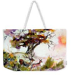 Autumn Oak And Deer  Weekender Tote Bag