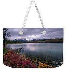 Autumn On Little Redfish Weekender Tote Bag