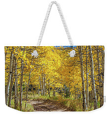Autumn On Medano Pass Weekender Tote Bag