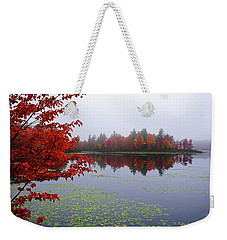 Autumn On The Bellamy Weekender Tote Bag