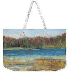Autumn On The Maurice River Weekender Tote Bag
