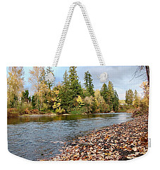 Autumn On The Molalla Weekender Tote Bag