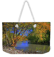 Autumn On The North Raccoon Weekender Tote Bag