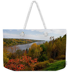 Autumn On The Penobscot Weekender Tote Bag