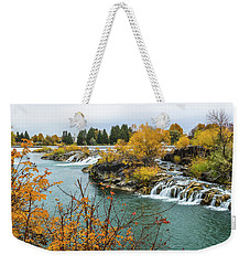 Autumn On The Snake River Weekender Tote Bag by Yeates Photography