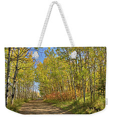 Autumn On The Trail Weekender Tote Bag