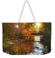 Autumn Over Furnace Run Weekender Tote Bag