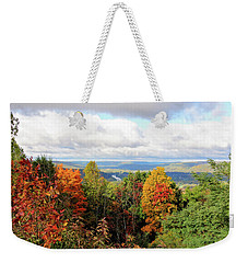 Autumn Overlook Weekender Tote Bag by Trina Ansel