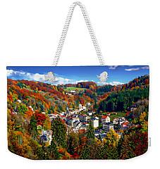 Autumn Panorama Weekender Tote Bag