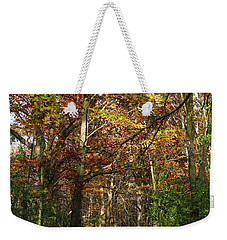 Autumn Path At St Croix Bluffs Weekender Tote Bag