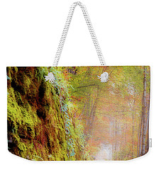 Weekender Tote Bag featuring the photograph Autumn Path by Geoff Smith