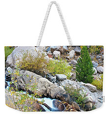 Weekender Tote Bag featuring the photograph Autumn Peace by Gary Lengyel