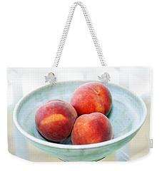 Autumn Peaches Weekender Tote Bag by Marilyn Hunt