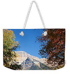 Autumn Peaks Weekender Tote Bag