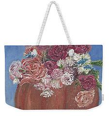 Autumn Petals Weekender Tote Bag