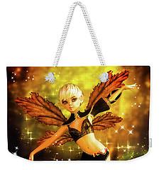 Autumn Pixie Weekender Tote Bag