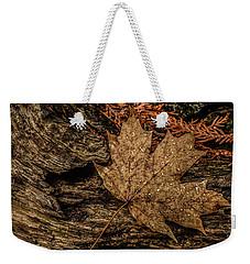 Autumn Rain Weekender Tote Bag
