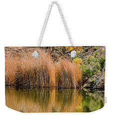 Autumn Reflection At Boyce Thompson Arboretum Weekender Tote Bag