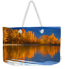 Autumn Reflections At Sunoka Weekender Tote Bag