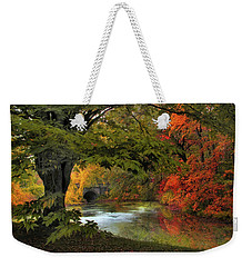 Weekender Tote Bag featuring the photograph Autumn Reverie by Jessica Jenney