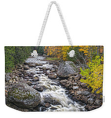 Autumn River Weekender Tote Bag