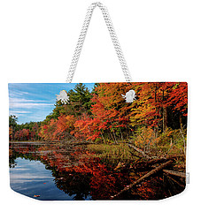 Autumn Scene Weekender Tote Bag