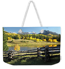 Autumn Serenade Weekender Tote Bag