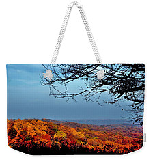 Autumn Shade Weekender Tote Bag