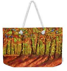Autumn Shadows Weekender Tote Bag