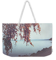 Weekender Tote Bag featuring the photograph Autumn Shore by Ari Salmela