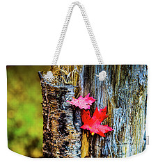 Autumn Silence Weekender Tote Bag