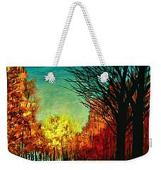 Autumn Silhouette  Weekender Tote Bag