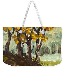 Autumn Sketch Weekender Tote Bag by Jim Phillips