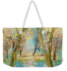 Autumn Sketch Weekender Tote Bag