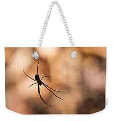 Autumn Spider Weekender Tote Bag
