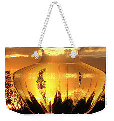 Weekender Tote Bag featuring the photograph Autumn Spirits by Joyce Dickens
