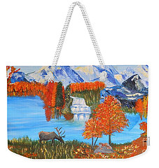 Autumn Splendor Weekender Tote Bag