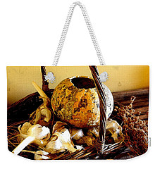 Autumn Still Life Weekender Tote Bag