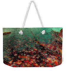 Weekender Tote Bag featuring the photograph Autumn Submerged by David Patterson