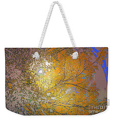 Autumn Sun Weekender Tote Bag