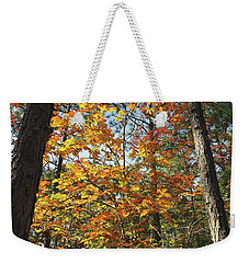 Autumn Sunday Weekender Tote Bag