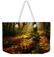 Autumn Sunrays Weekender Tote Bag